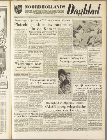 Noordhollands Dagblad : dagblad voor Alkmaar en omgeving 1958-06-12