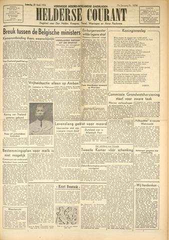 Heldersche Courant 1950-04-29