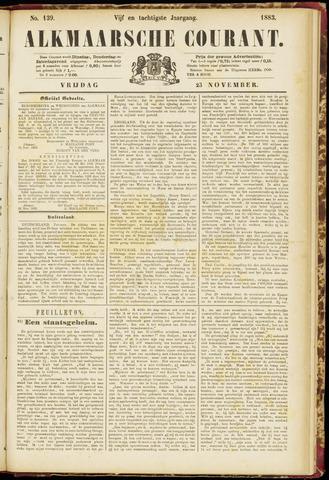 Alkmaarsche Courant 1883-11-23