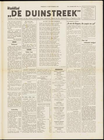 De Duinstreek 1950-09-15
