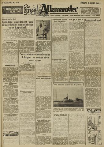 De Vrije Alkmaarder 1949-03-08