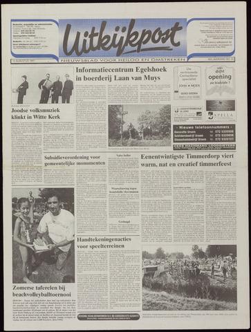 Uitkijkpost : nieuwsblad voor Heiloo e.o. 1997-08-13