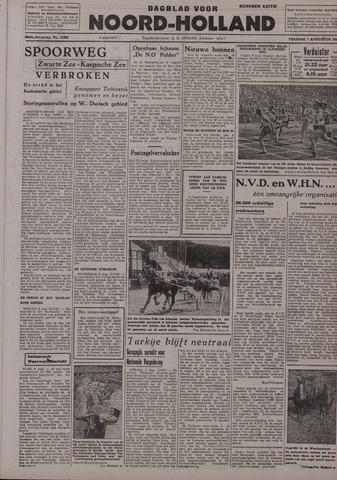 Dagblad Noord-Holland, Schager editie 1942-08-07