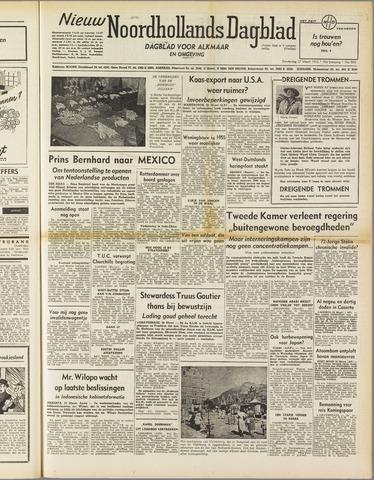 Nieuw Noordhollandsch Dagblad : voor Alkmaar en omgeving 1952-03-27