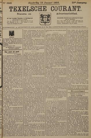 Texelsche Courant 1916-01-13