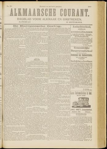 Alkmaarsche Courant 1914-09-12