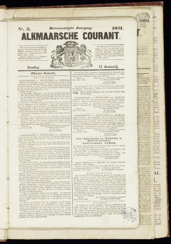 Alkmaarsche Courant 1861-01-13