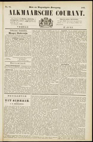 Alkmaarsche Courant 1891-07-17