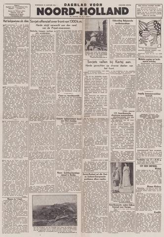 Dagblad Noord-Holland, Schager editie 1944-01-12