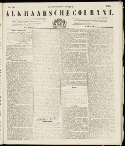 Alkmaarsche Courant 1872-03-10