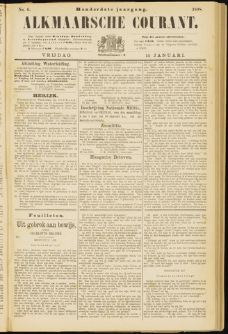 Alkmaarsche Courant 1898-01-14