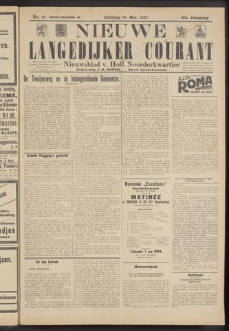 Nieuwe Langedijker Courant 1927-05-24