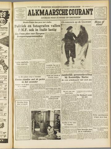 Alkmaarsche Courant 1955-01-08