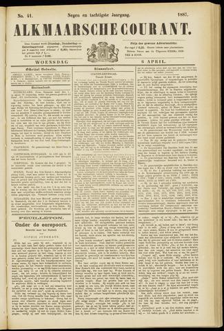 Alkmaarsche Courant 1887-04-06