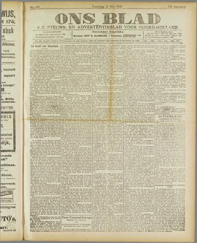 Ons Blad : katholiek nieuwsblad voor N-H 1920-05-22