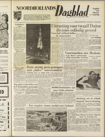 Noordhollands Dagblad : dagblad voor Alkmaar en omgeving 1954-09-03