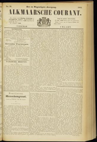 Alkmaarsche Courant 1894-03-02