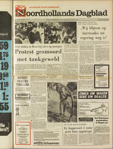 Noordhollands Dagblad : dagblad voor Alkmaar en omgeving 1969-08-22