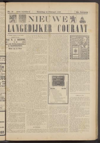 Nieuwe Langedijker Courant 1926-02-13