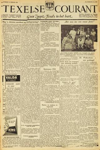 Texelsche Courant 1952-02-16