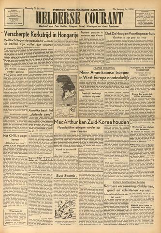 Heldersche Courant 1950-07-26
