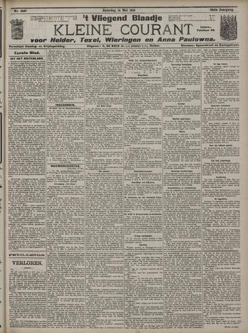 Vliegend blaadje : nieuws- en advertentiebode voor Den Helder 1910-05-14