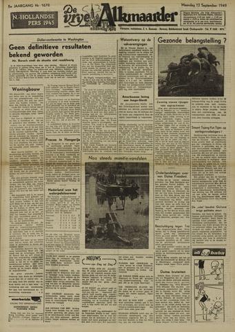 De Vrije Alkmaarder 1949-09-12
