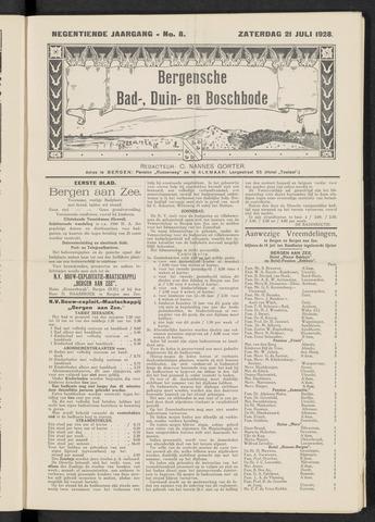 Bergensche bad-, duin- en boschbode 1928-07-21