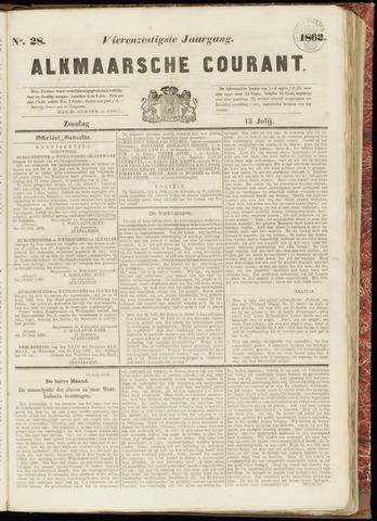 Alkmaarsche Courant 1862-07-13