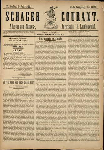 Schager Courant 1888-07-05