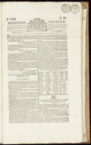 Alkmaarsche Courant 1843-08-14