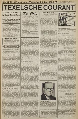 Texelsche Courant 1938-01-26