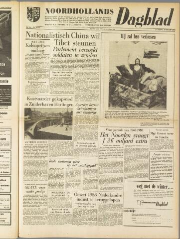 Noordhollands Dagblad : dagblad voor Alkmaar en omgeving 1959-03-28