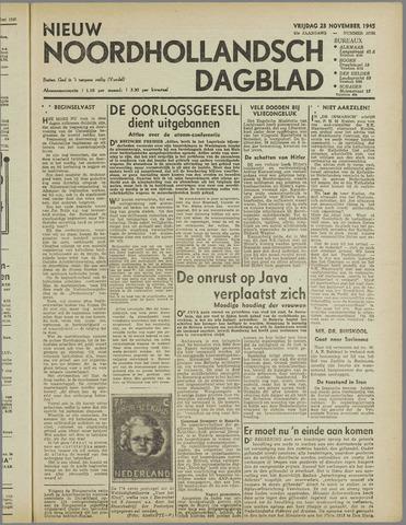 Nieuw Noordhollandsch Dagblad : voor Alkmaar en omgeving 1945-11-23