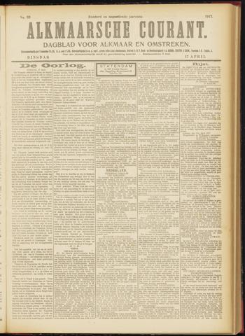 Alkmaarsche Courant 1917-04-17