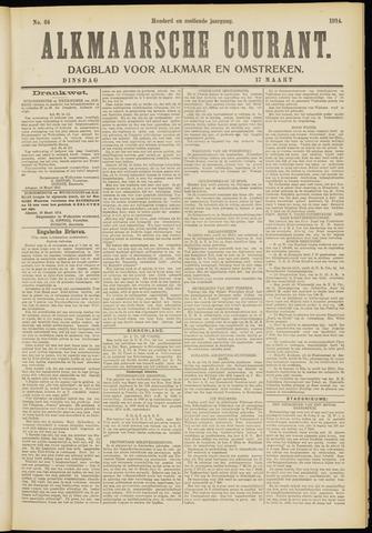 Alkmaarsche Courant 1914-03-17