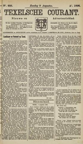 Texelsche Courant 1896-08-09