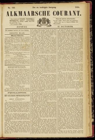 Alkmaarsche Courant 1884-10-12