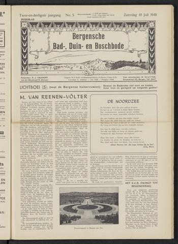Bergensche bad-, duin- en boschbode 1948-07-10