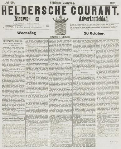 Heldersche Courant 1875-10-20