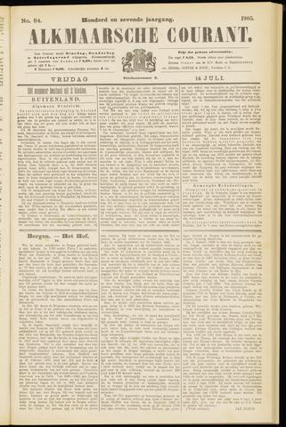 Alkmaarsche Courant 1905-07-14