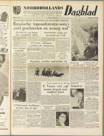 Noordhollands Dagblad : dagblad voor Alkmaar en omgeving 1958-07-03