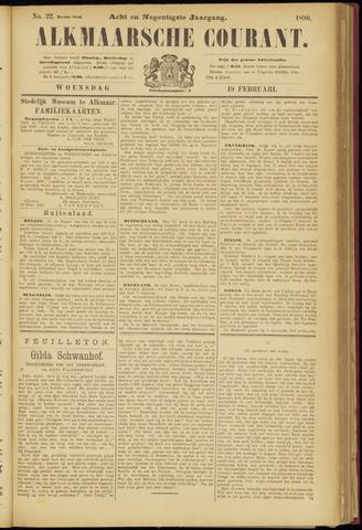 Alkmaarsche Courant 1896-02-19