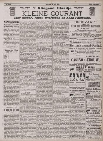 Vliegend blaadje : nieuws- en advertentiebode voor Den Helder 1902-07-12