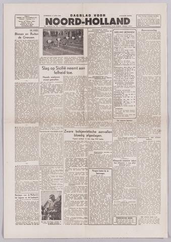 Dagblad Noord-Holland, Schager editie 1943-07-17