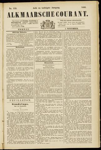 Alkmaarsche Courant 1886-11-05