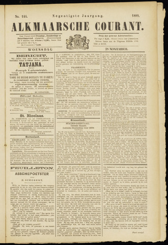 Alkmaarsche Courant 1888-11-28