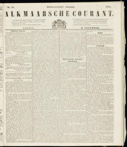 Alkmaarsche Courant 1871-11-26