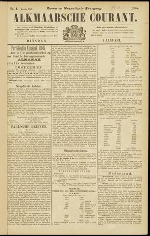Alkmaarsche Courant 1895-01-01