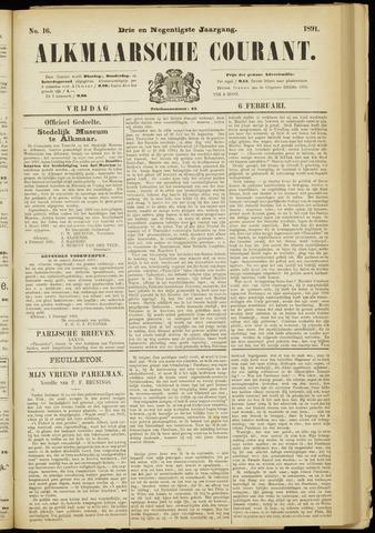 Alkmaarsche Courant 1891-02-06